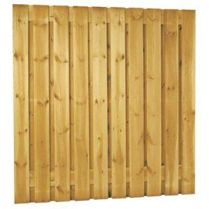 Plankenscherm grenen | verticaal | 21-planks