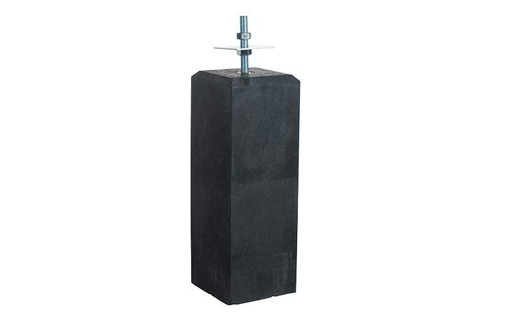 betonpoer antraciet