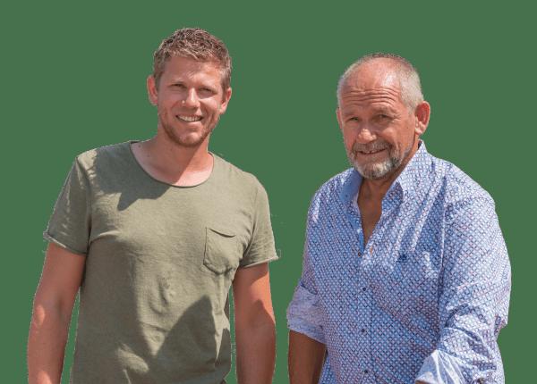 Martyn en Dirk Wielemaker
